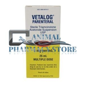 Buy Vetalog Injectable 6mg/25ml